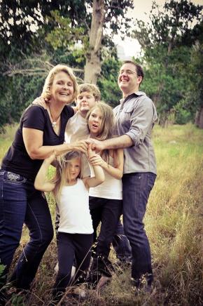 The Irish Family Shoot at RhodesMemorial