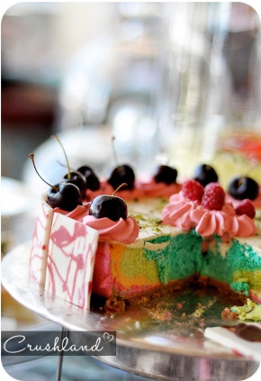 If Life was a Tea Party, I'd be the Rainbow Cheesecake (Table Bay HighTea)