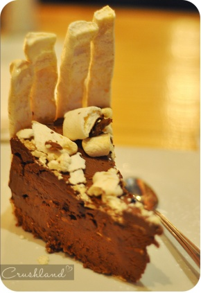 The Concorde Cake at Primi Piatti