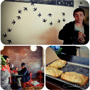Bella Vegan Café and exploring Palmer Road,Muizenberg