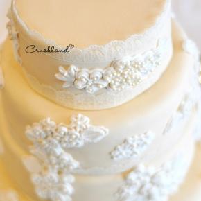 The Lace WeddingCake