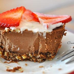 Chocolate Cheesecake at BellaVegan